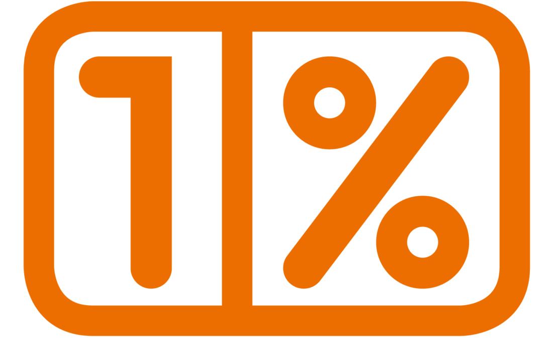 """Bezpłatne szkolenie """"Akcja 1%"""""""