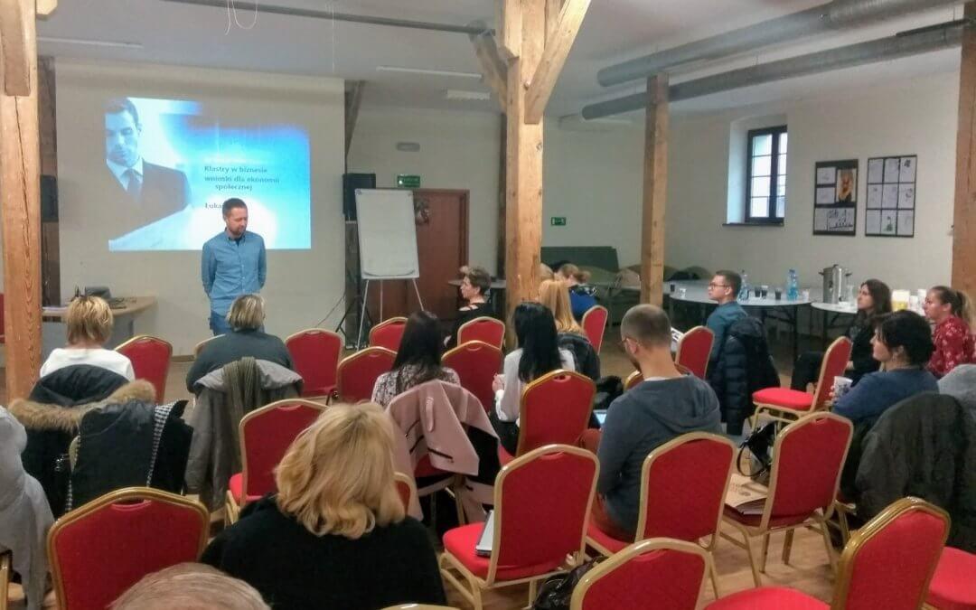 II spotkanie Lubuskiego Klastra Przedsiębiorstw Społecznych