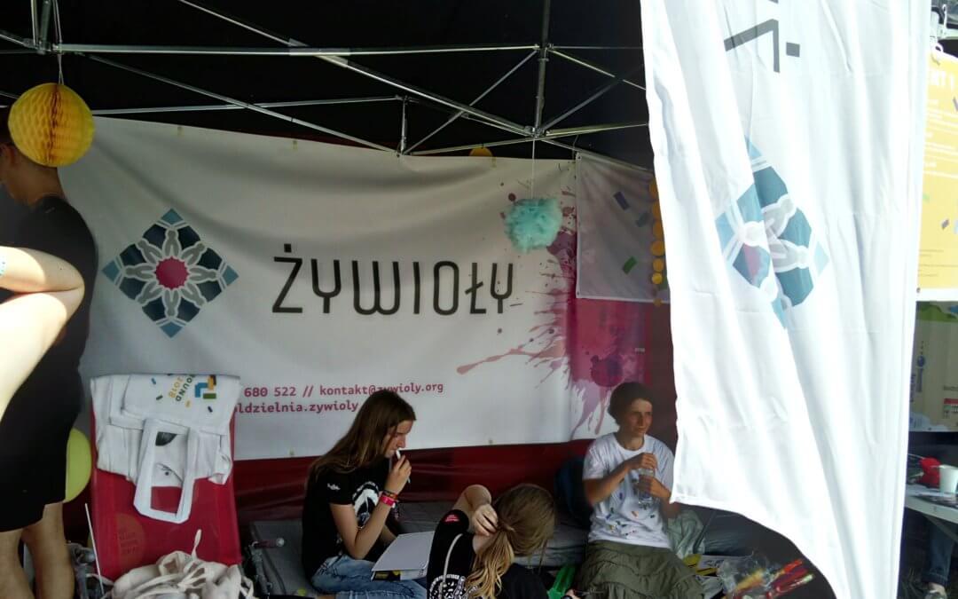 Spółdzielnia Socjalna Żywioły na Pol'and'Rock Festival
