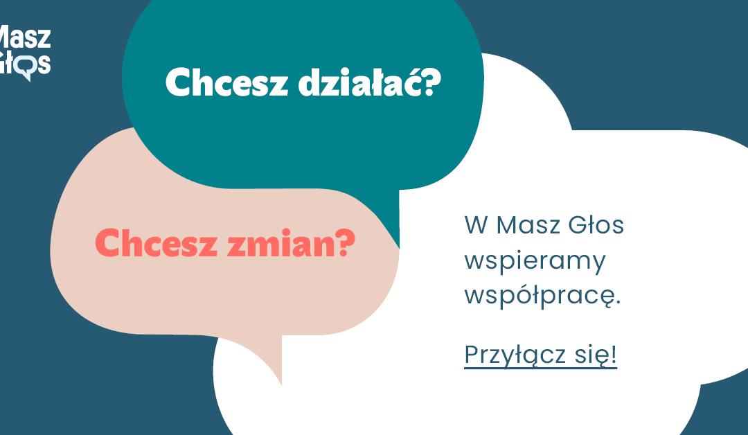Kolejna edycja akcji Masz Głos – czyli bądź aktywny lokalnie!