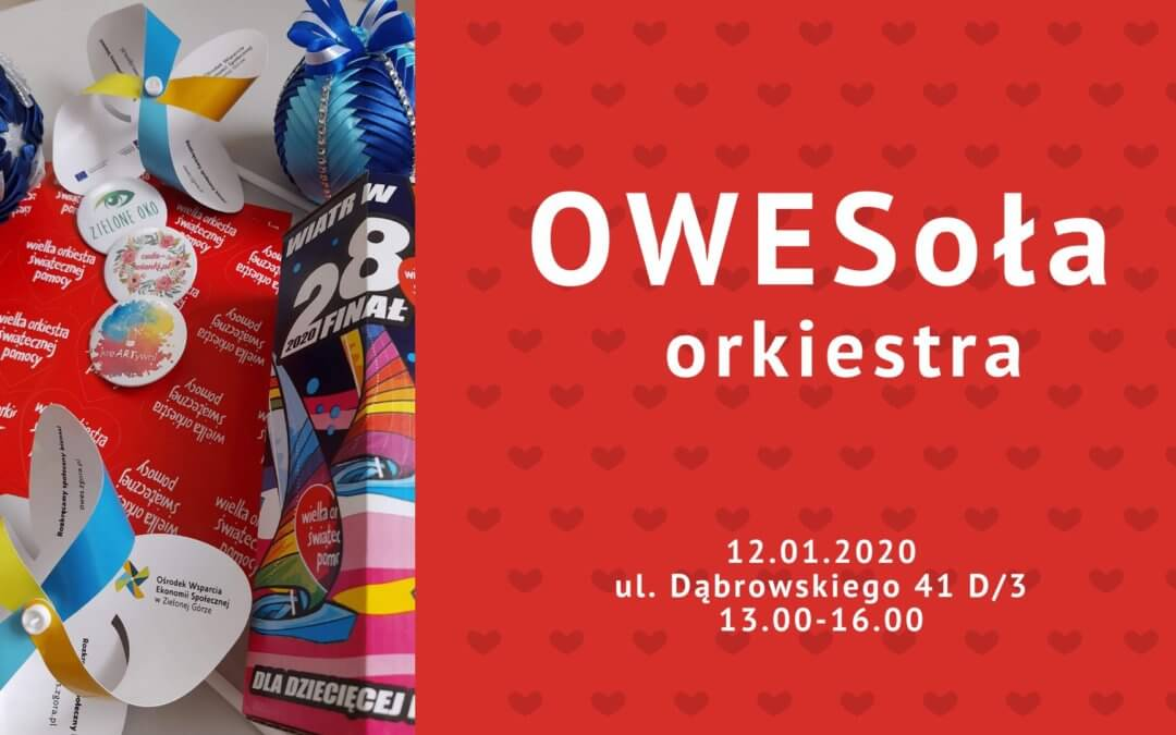 Gramy razem z WOŚP – OWESoła orkiestra zaprasza!