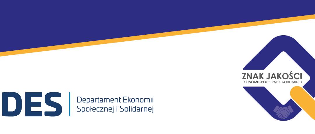 Certyfikat Znak Jakości Ekonomii Społecznej i Solidarnej 2021